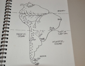 South America drawn by the Artist, 13.